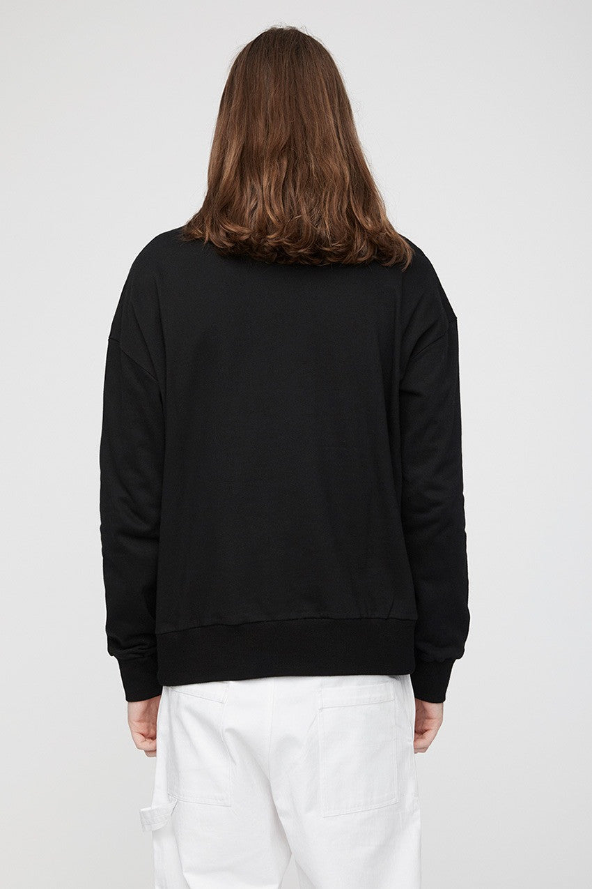 The Valet Sweater Black