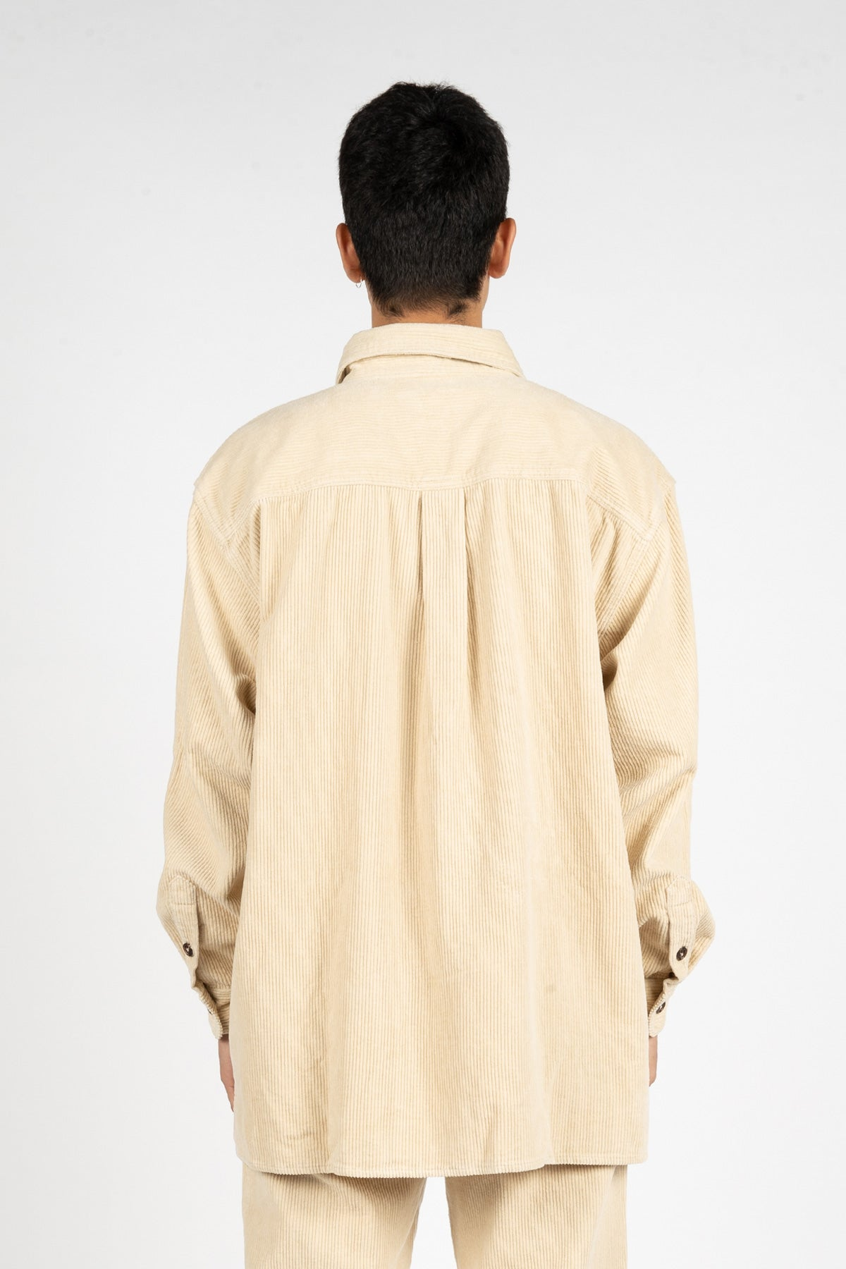 OVERSIZED CORDUROY SHIRT