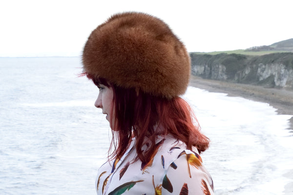 Cinnamon Round Fox Hat