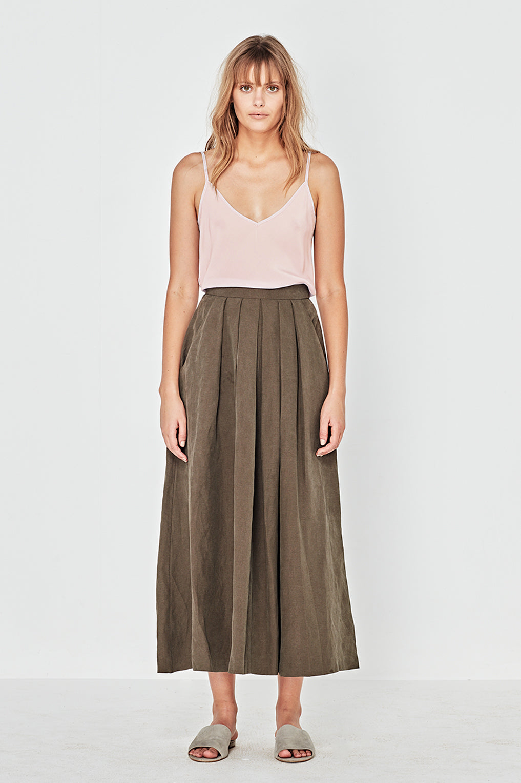 The Corsica Cami in Blush