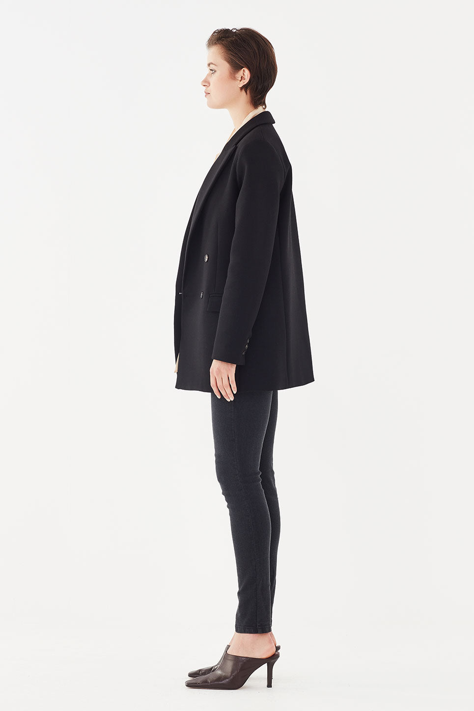 The Leandra Jacket in Black