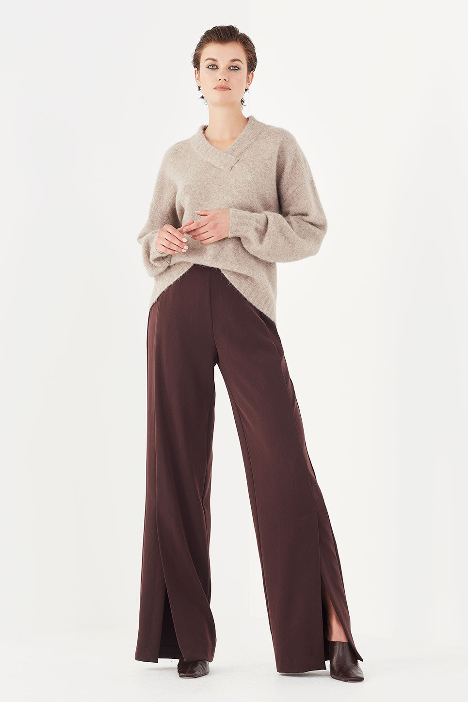 The Jefferson Trouser in Chocolate
