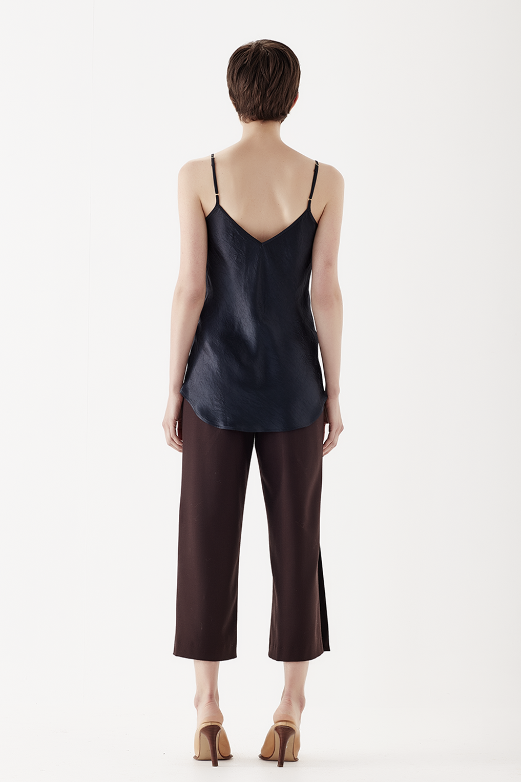 The Corsica Cami in Midnight