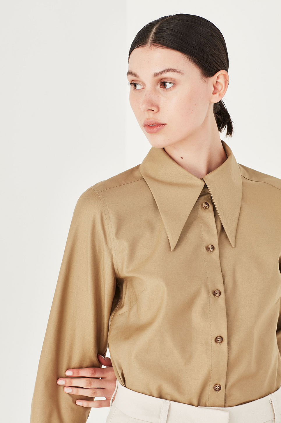 The Dunaway Shirt in Birch