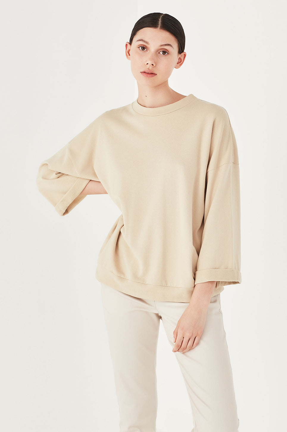 The Fabian Top in Bone