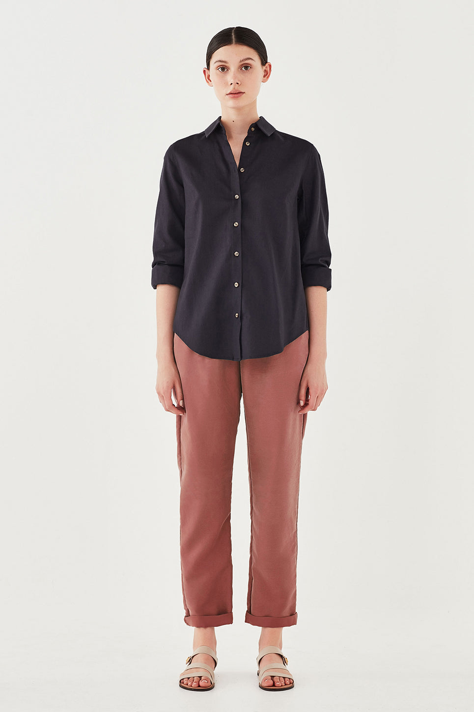 The Cooper Trouser in Rosewood