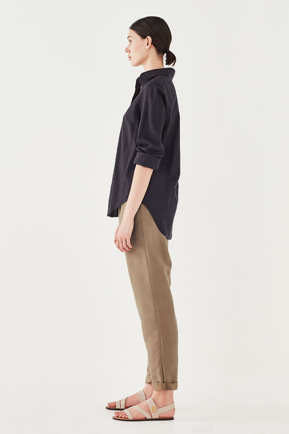 The Cooper Trouser in Taupe