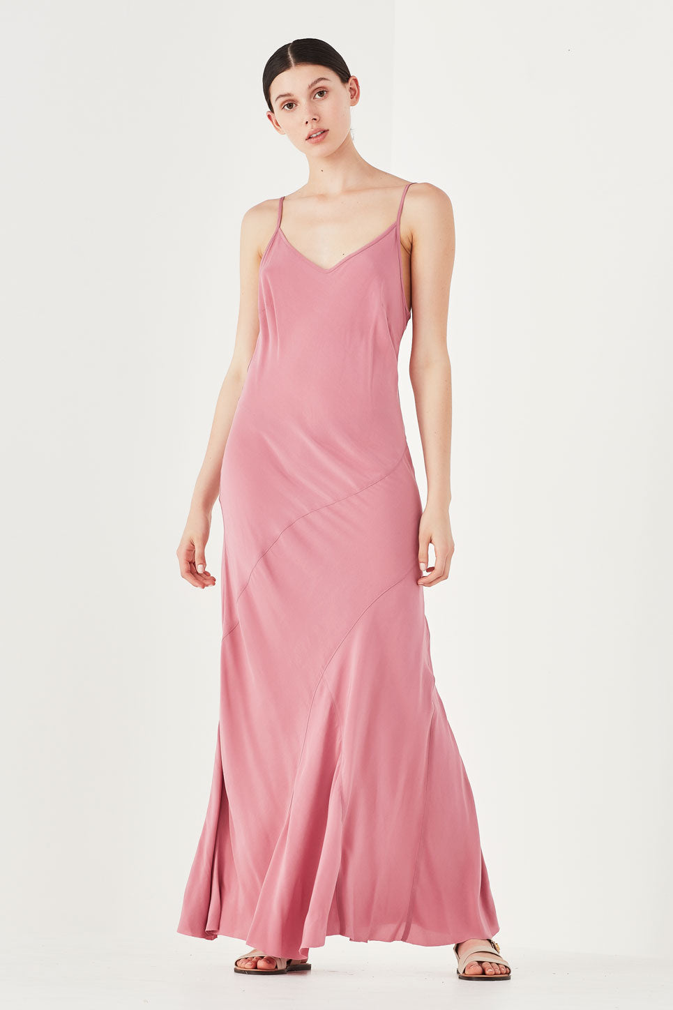 ONE-OFF | The Nymph Dress in Peony