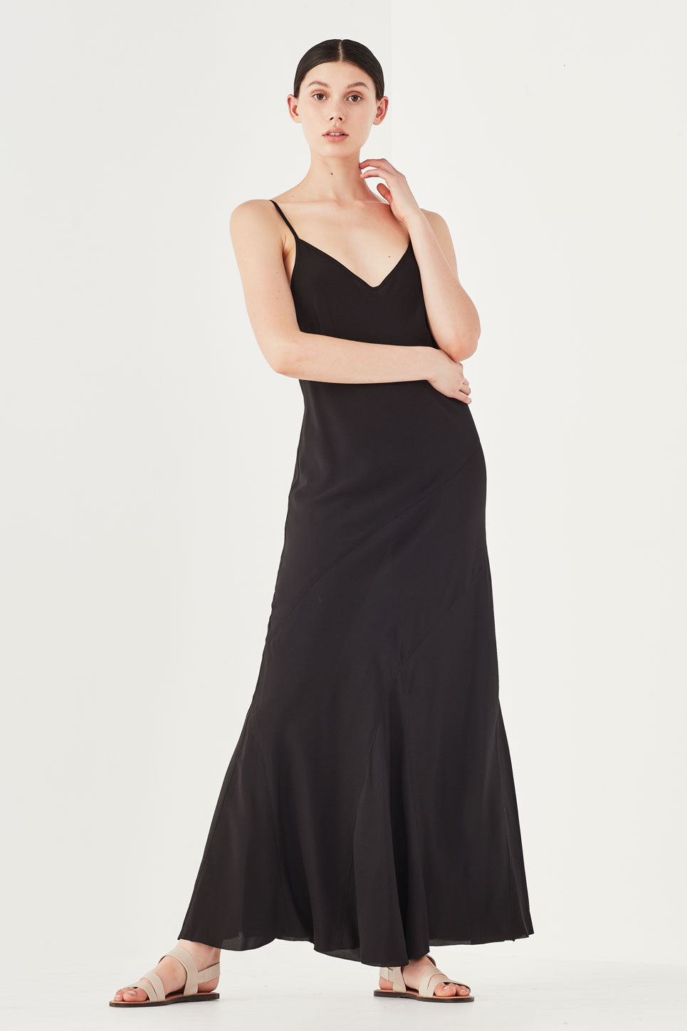 ONE-OFF | The Nymph Dress in Black
