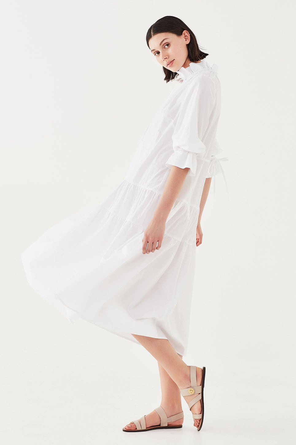 The Primrose Dress in White