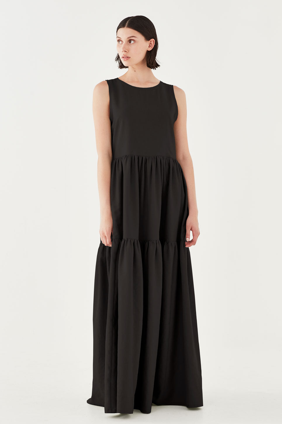 The Iris Dress in Black