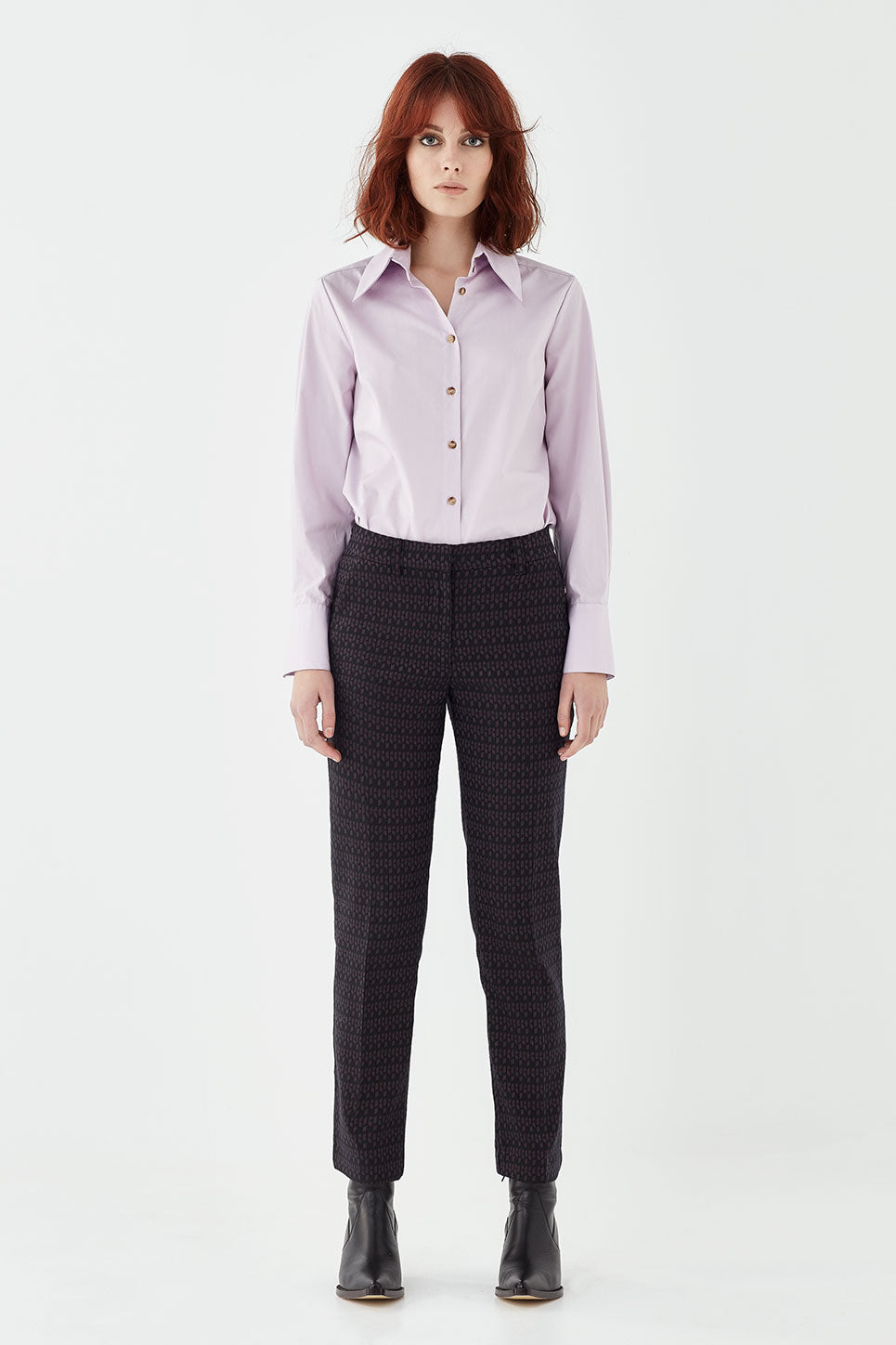 The Marlon Trouser in Jacquard
