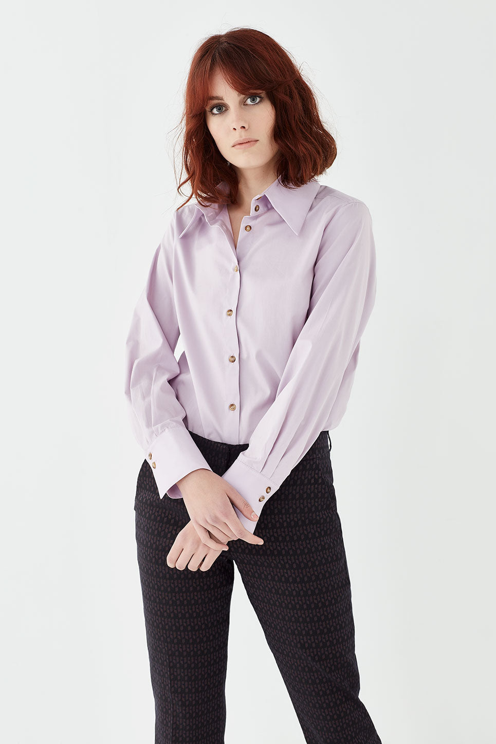 The Stirling Shirt in Lilac