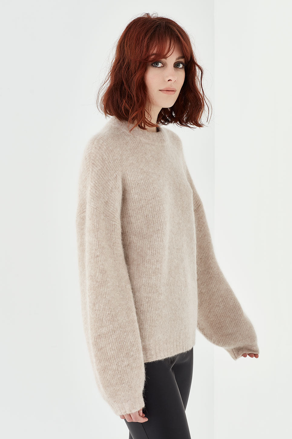 The Ezra Jumper in Oatmeal
