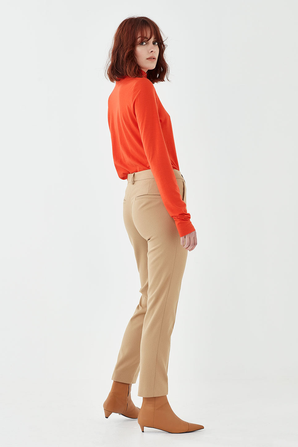 The Marlon Trouser in Tan