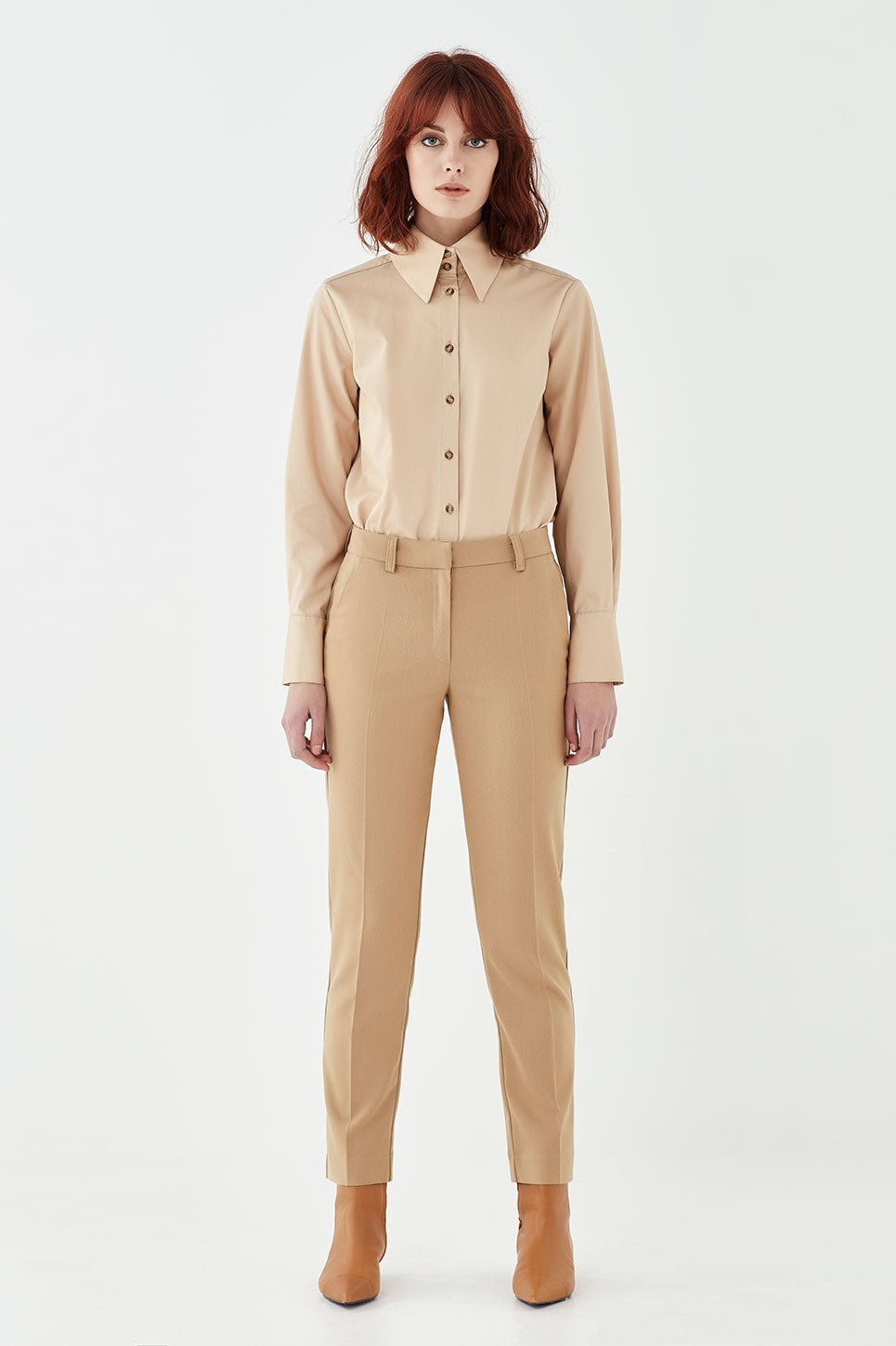 The Stirling Shirt in Tan