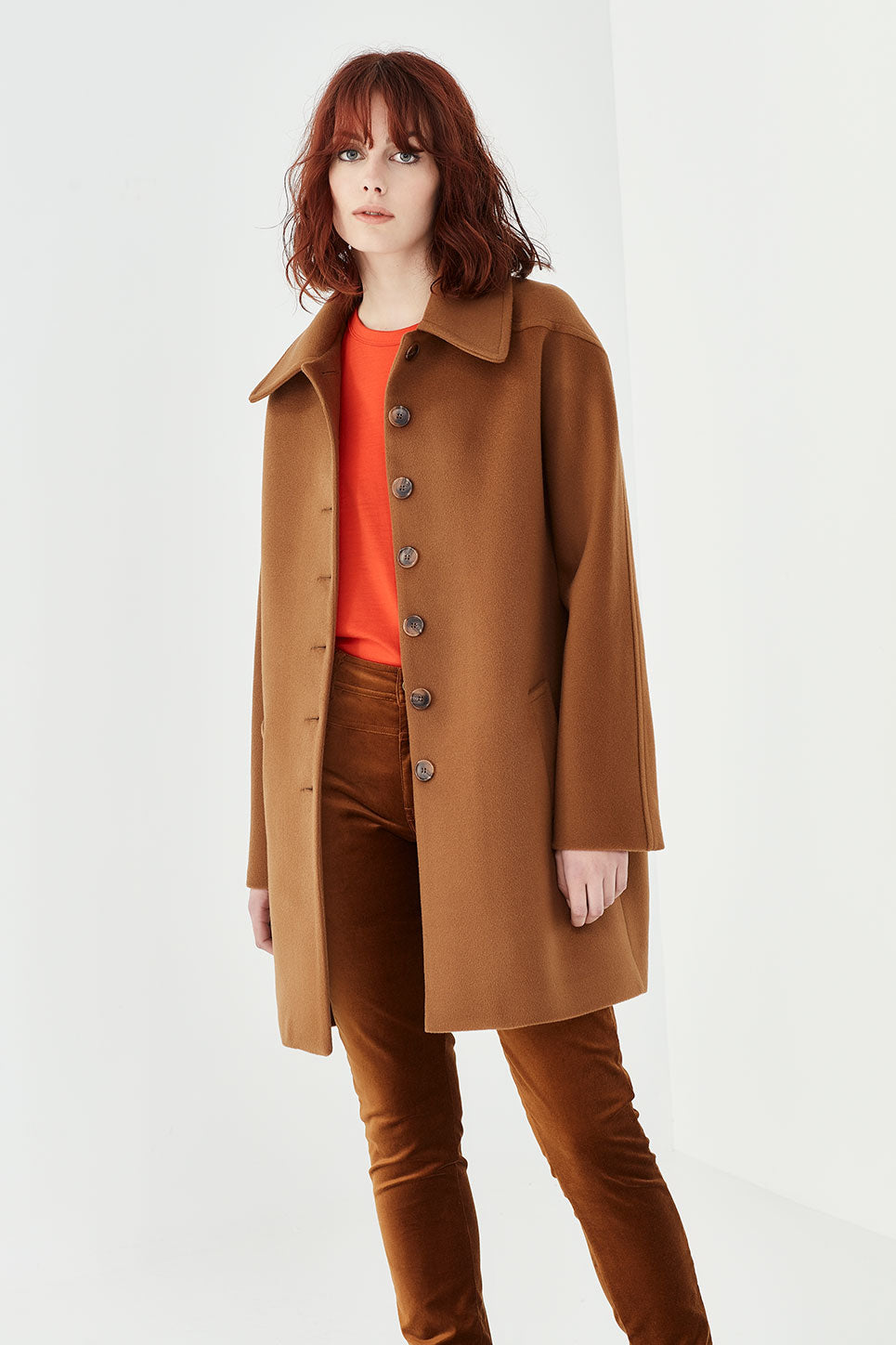 The Dylan Coat in Tobacco