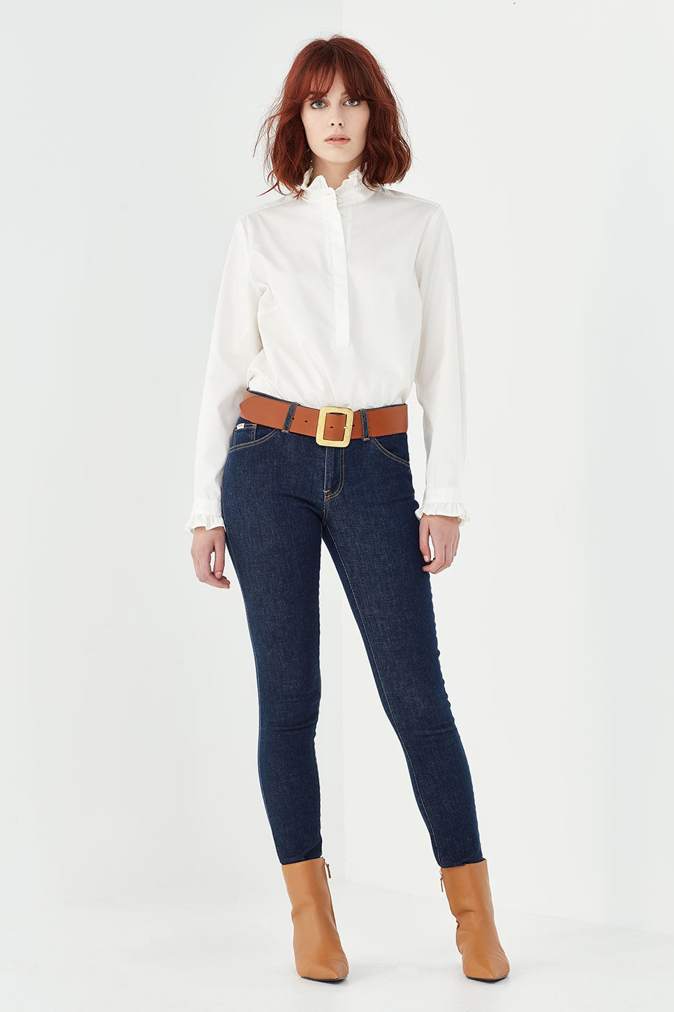 The Byron Shirt in Ivory