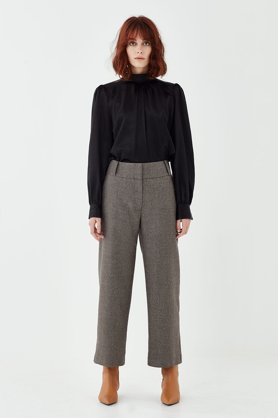The Whitman Trouser in Houndstooth