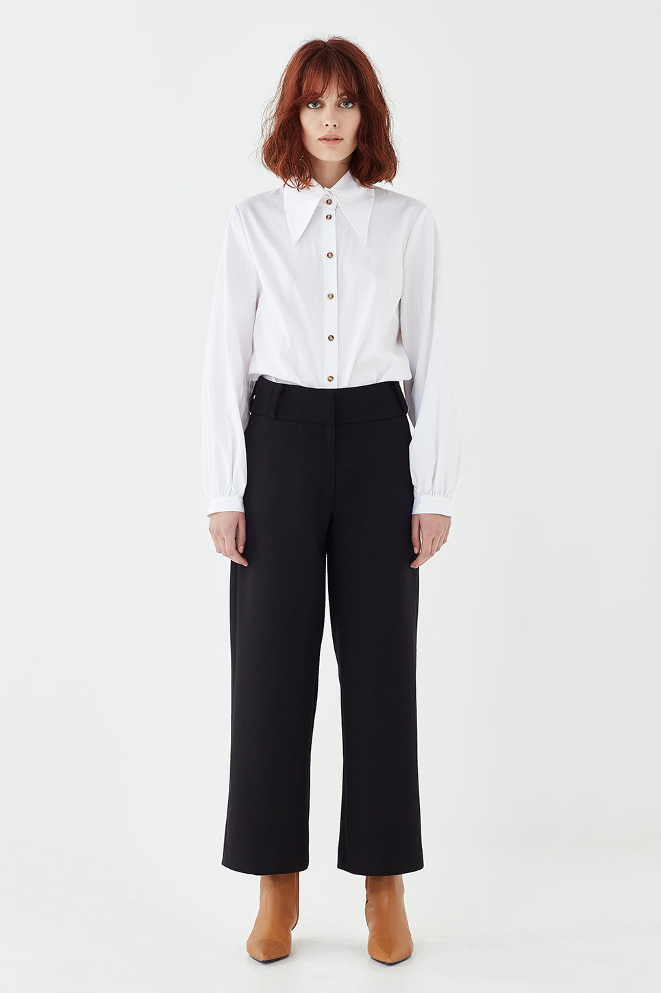The Whitman Trouser in Black