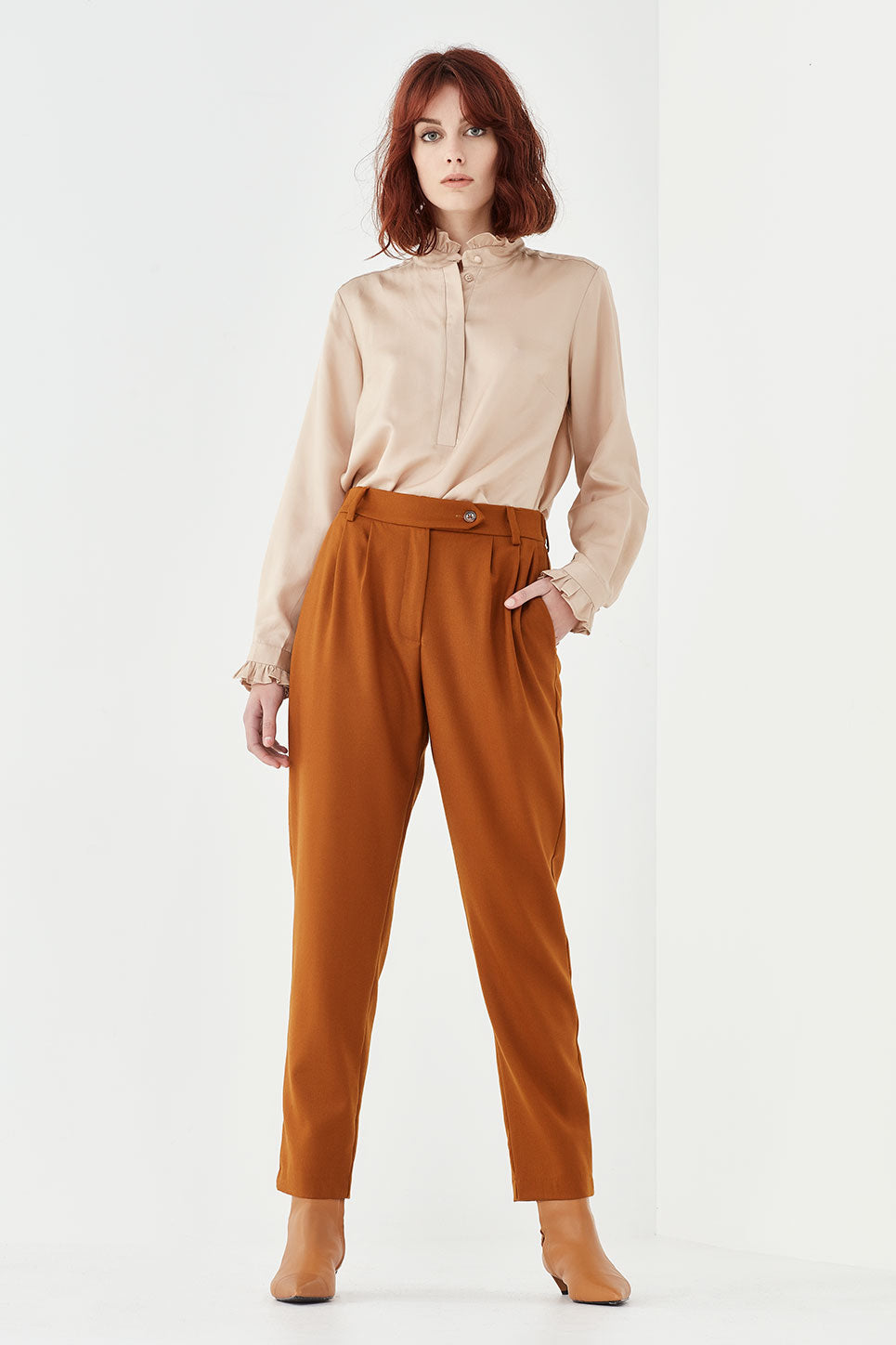 The Osbourne Trouser in Marigold