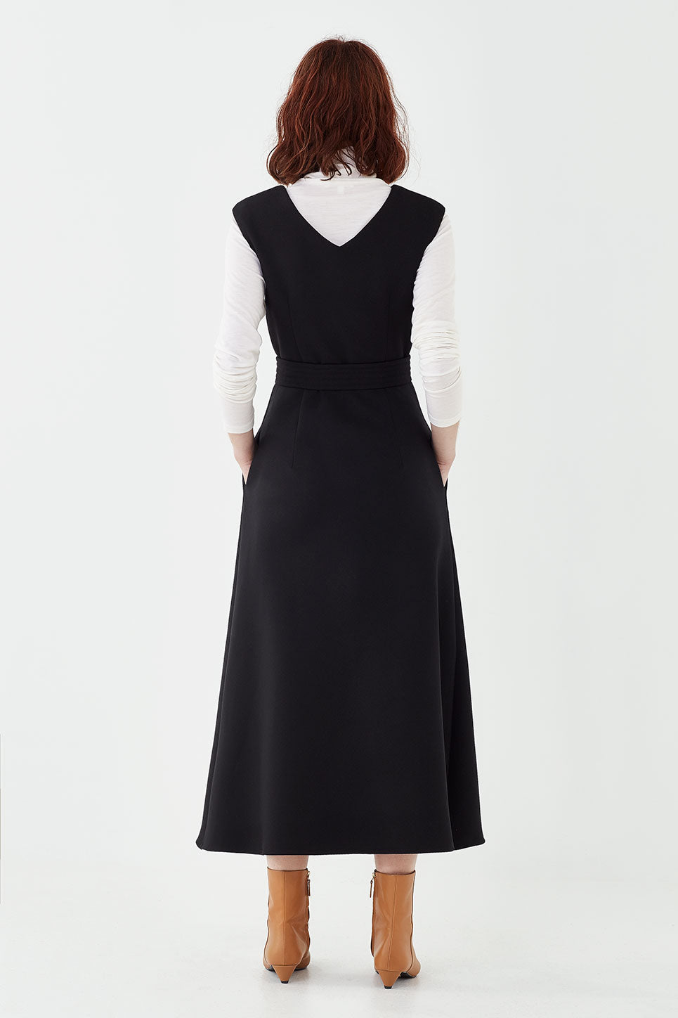 The Arden Dress in Black