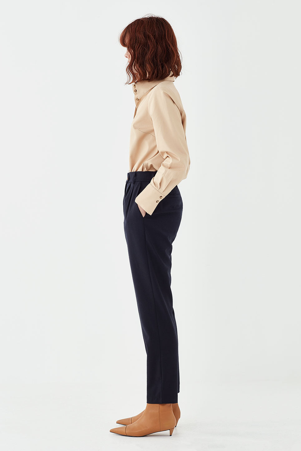 The Osbourne Trouser in Navy