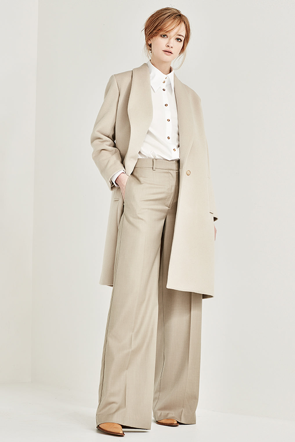 The Madison Trouser in Fawn