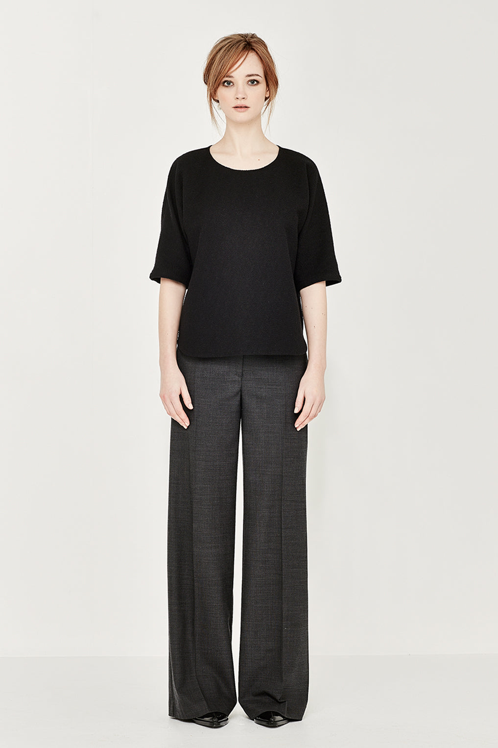 The Madison Trouser in Charcoal