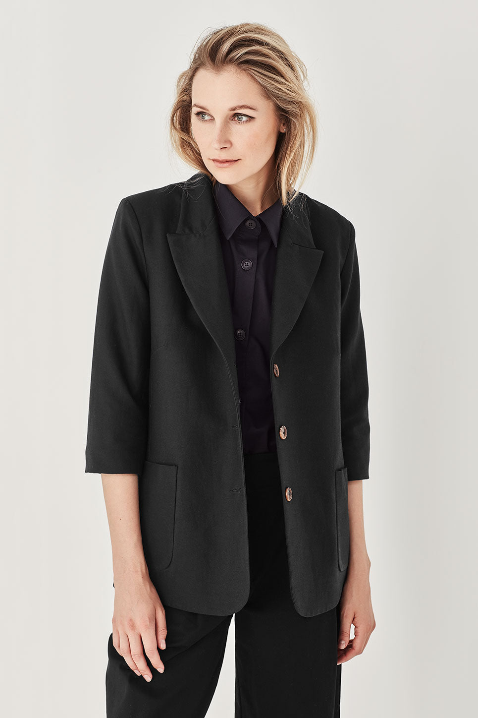 The Delamore Jacket in Black