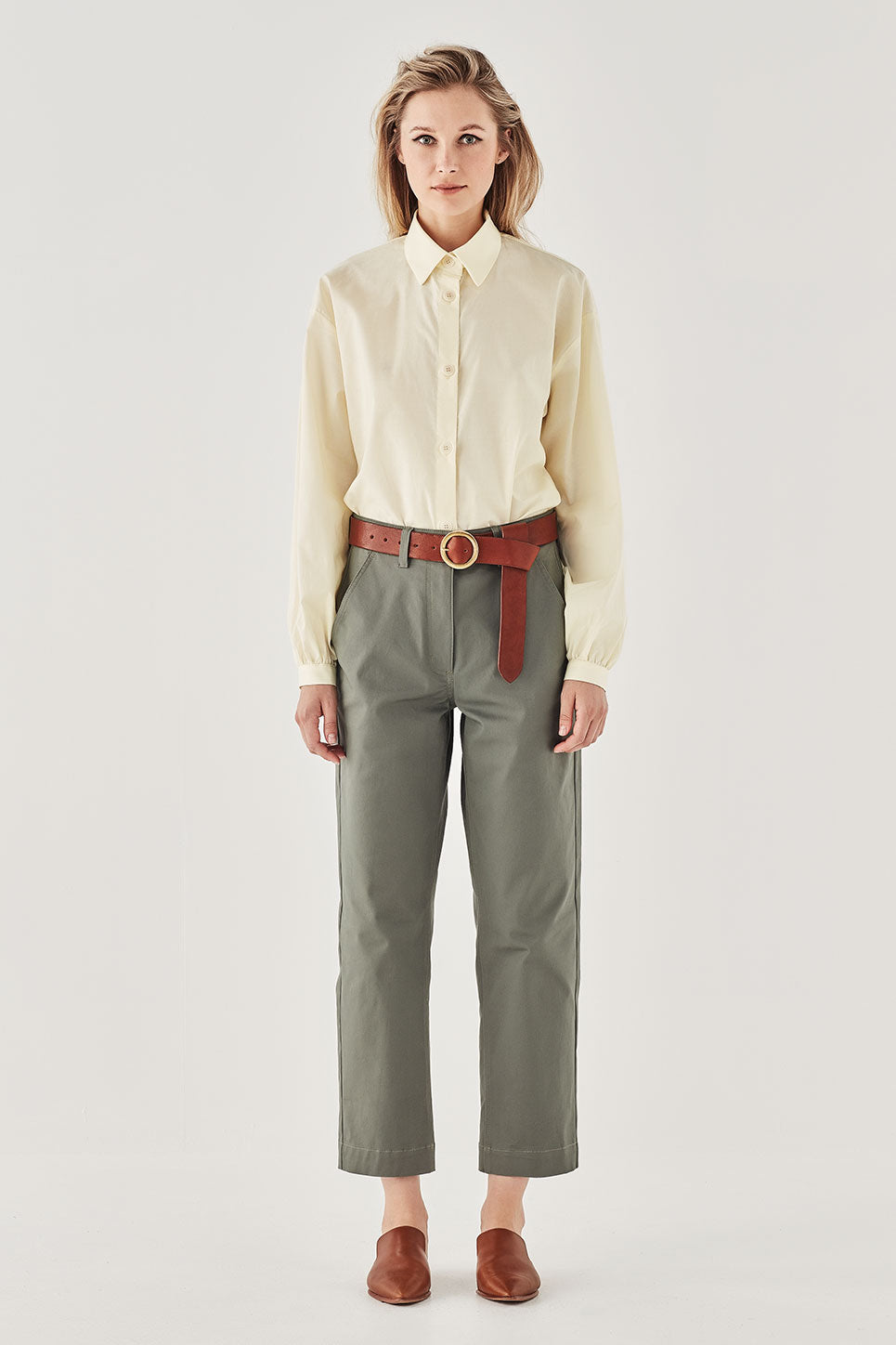 The Andaman Shirt in Lemon