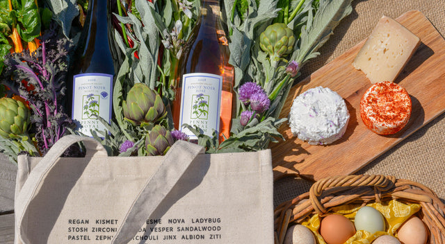 Pennyroyal Farm Wine & Cheese