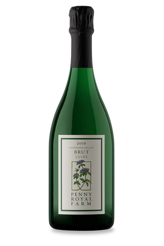 2016 Brut Cuvée, Anderson Valley, Pennyroyal Farm