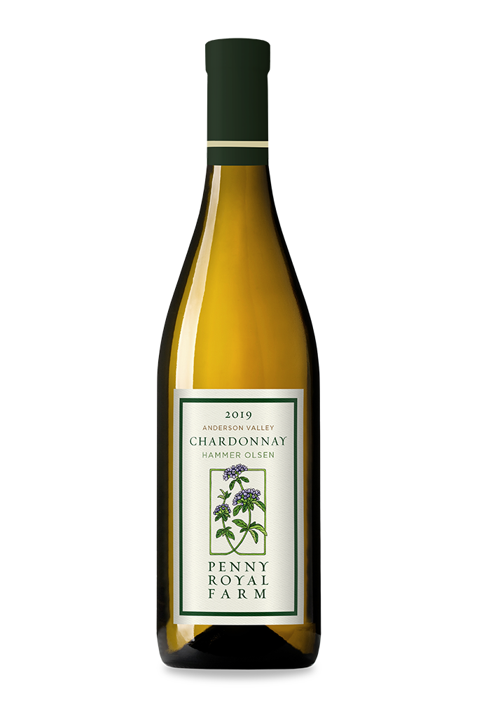 2019 Chardonnay, Hammer Olsen Vineyard, Anderson Valley, Pennyroyal Farm