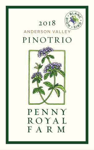 2018 PinoTrio, Anderson Valley, Pennyroyal Farm