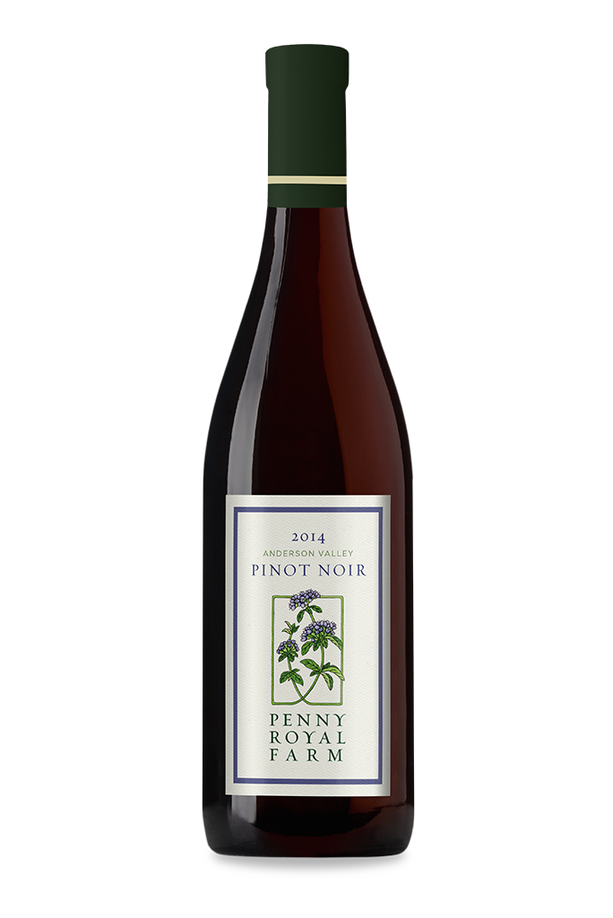 2014 Pinot Noir, Anderson Valley, Pennyroyal Farm