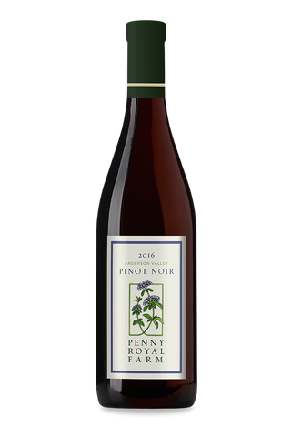 2016 Pinot Noir, Anderson Valley, Pennyroyal Farm