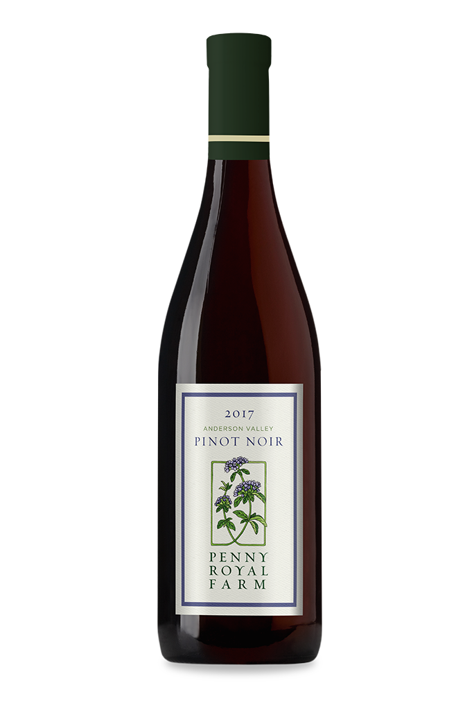 2017 Pinot Noir, Anderson Valley, Pennyroyal Farm