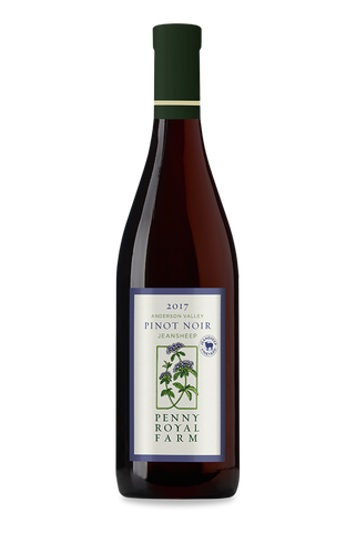 2017 Pinot Noir, Jeansheep Vineyard, Anderson Valley, Pennyroyal Farm