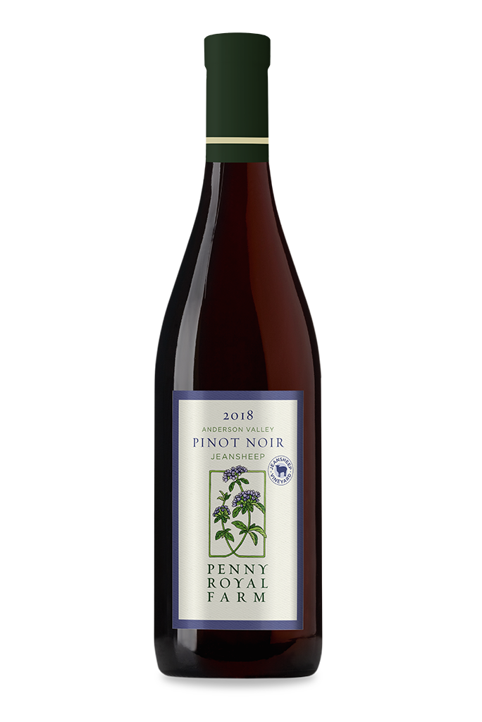 2018 Pinot Noir, Jeansheep Vineyard, Pennyroyal Farm