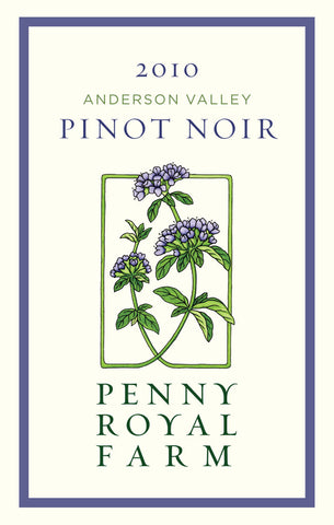2010 Pinot Noir, Anderson Valley