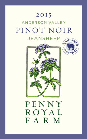 2015 Pinot Noir, Jeansheep Vineyard, Anderson Valley