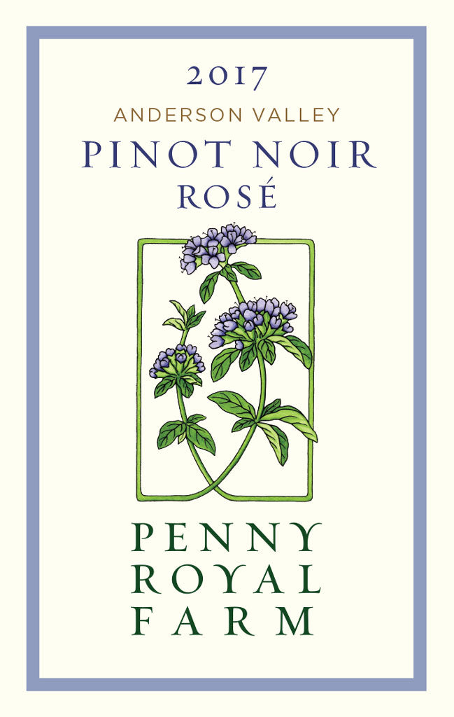 2017 Rosé of Pinot Noir, Anderson Valley