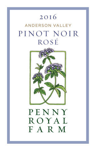 2016 Rosé of Pinot Noir, Anderson Valley