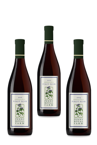 Rosy Saver, Pinot Noir, Anderson Valley, Pennyroyal Farm