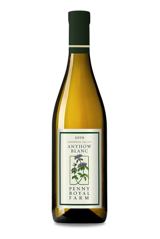2019 Anyhow Blanc, Anderson Valley, Pennyroyal Farm