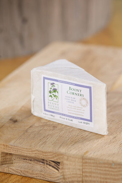 Boont Corners, Two Month Tomme, Pennyroyal Farm