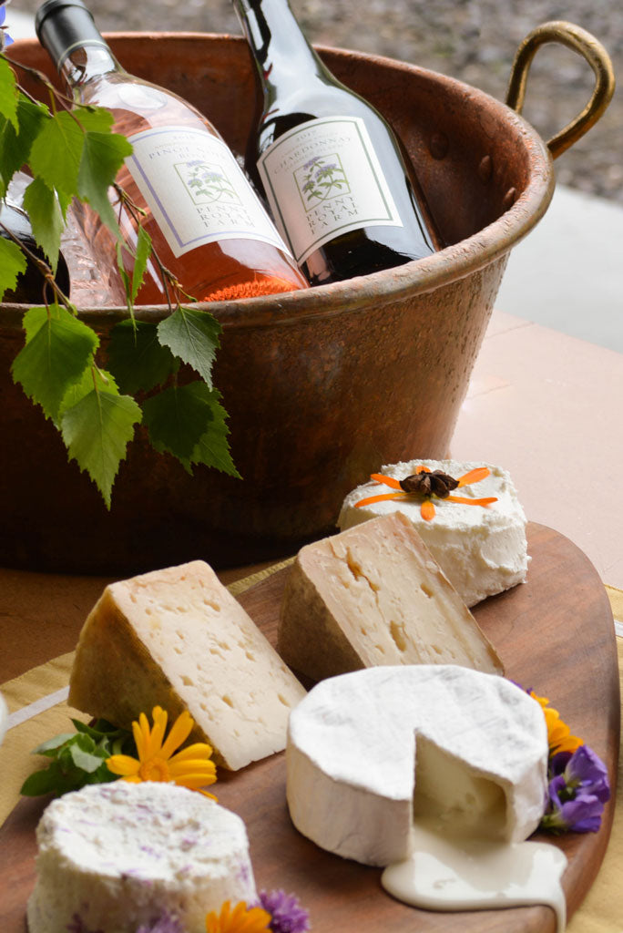 Combo Pack, Wine and Cheese, Pennyroyal Farm