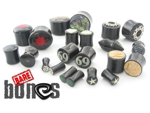 Horn Mixed Graphic Plugs - Bare Bones Organics