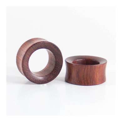 Blood Wood Concave Tunnels (Pair)